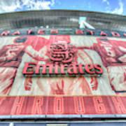 Arsenal Fc Stadium London Poster