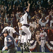 Atlanta Braves V New York Yankees Poster