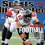 Atlanta Falcons V New York Giants Sports Illustrated Cover Poster