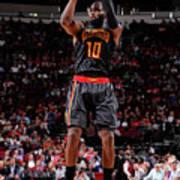 Atlanta Hawks V Houston Rockets Poster