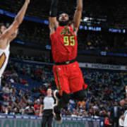 Atlanta Hawks V New Orleans Pelicans Poster