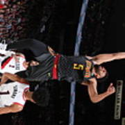 Atlanta Hawks V Portland Trail Blazers Poster