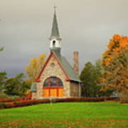 Autumn At Grand Pre Poster