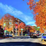 Autumn In Pullman Poster