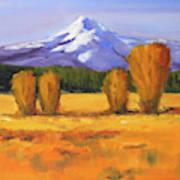 Autumn Mountain Poster