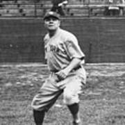 Babe Ruth In Right Field Poster