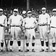 Babe Ruth Murderers Row 1921 Poster