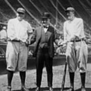 Babe Ruth Ruppert Meusel Poster