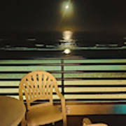 Balcony On The Pacific Oceanside California  Poster