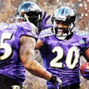 Baltimore Ravens Poster