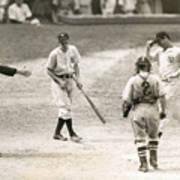 Baseball Star Joe Dimaggio Poster