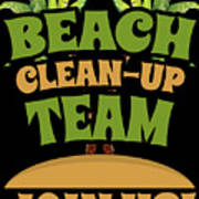 Beach Cleanup Team Join Us Coast Cleanup Poster