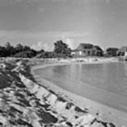 Beach Sand Cove Poster