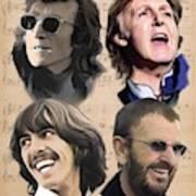 Beatles Yesterday Poster