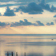 Beautiful Clouds Over Pamlico Sound Poster