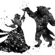Beauty And The Beast Dancing Poster