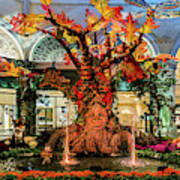 Bellagio Conservatory Enchanted Talking Tree Ultra Wide 2018 2.5 To 1 Aspect Ratio Poster