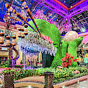 Bellagio Conservatory Spring Display Front Side View Wide 2018 2 To 1 Aspect Ratio Poster