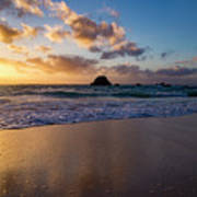 Bermuda Beach Sunrise Poster