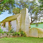 Bermuda Botanical Gardens Cottage Poster
