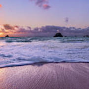 Bermuda Sunrise Welcome To Heaven Crossbay Beach Poster