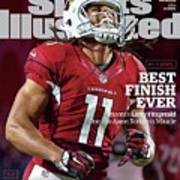Best Finish Ever Arizonas Larry Fitzgerald One-ups Aaron Sports Illustrated Cover Poster