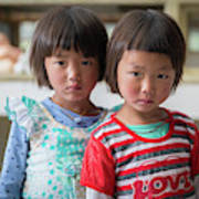 Bhutan Twins Poster