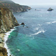Big Sur Ocean Views Poster