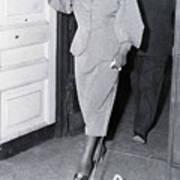 Billie Holiday Leaving Police Station Poster