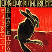 Black Ivory Rabbit Poster