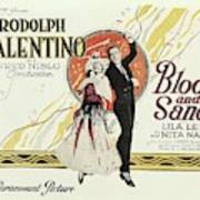Blood And Sand, 1922 Poster