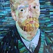 Blue Van Gogh Poster