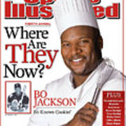 Bo Jackson, Where Are They Now Sports Illustrated Cover Poster