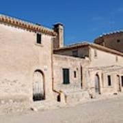 Boquer Valley Building In Majorca Poster