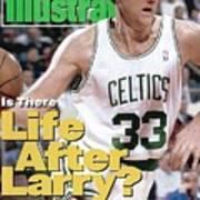 Boston Celtics Larry Bird... Sports Illustrated Cover Poster