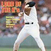 Boston Red Sox Roger Clemens... Sports Illustrated Cover Poster