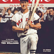Boston Red Sox Ted Williams... Sports Illustrated Cover Poster