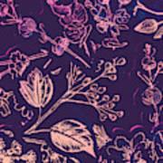 Botanical Branching Poster