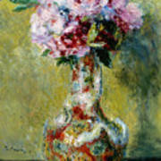 Bouquet In A Vase, 1878 Poster