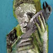 Boy Holding A Bird Poster