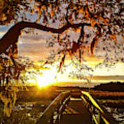 Breaking Sunset Poster