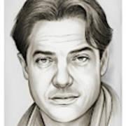 Brendan Fraser Poster