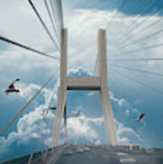 Bridge In The Clouds Poster