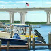 Bridge To Summer II Poster