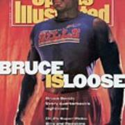 Buffalo Bills Bruce Smith, 1991 Nfl Football Preview Sports Illustrated Cover Poster