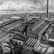 Camperdown Linen Works, Dundee, C1880 Poster