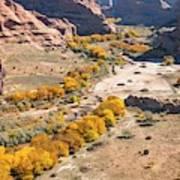 Canyon De Chelley Autumn Poster