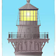 Cape Hatteras Lamp House Poster