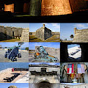Castillo De San Marcos National Monument Poster