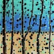 Celebration - Abstract Landscape  Poster